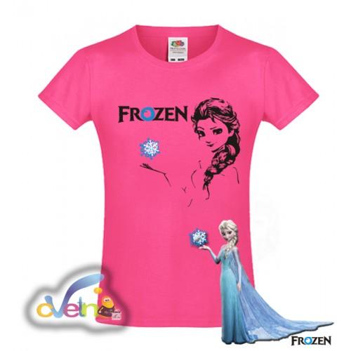 Детска парти тениска Замръзналото кралство
