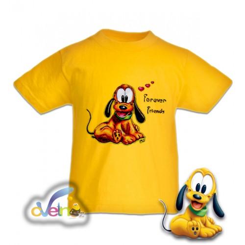 Рисувана тениска Плуто