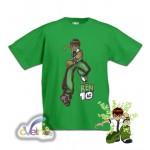 Рисувана тениска Ben10