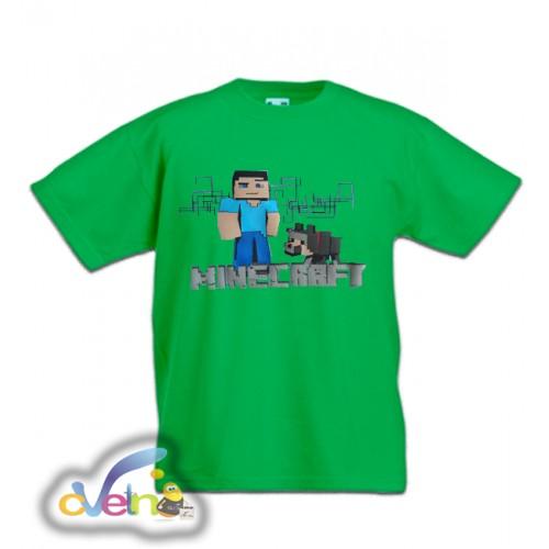 Тениска Minecraft_G изчерпан
