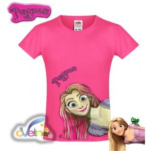 Рапунцел рисувана тениска