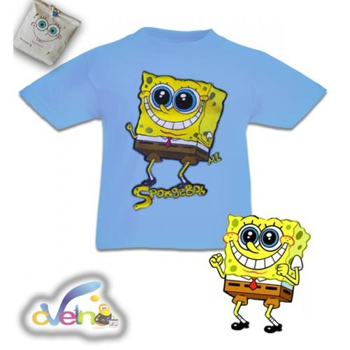 Спондж Боб рисувана тениска