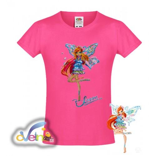 Уинкс рисувана тениска
